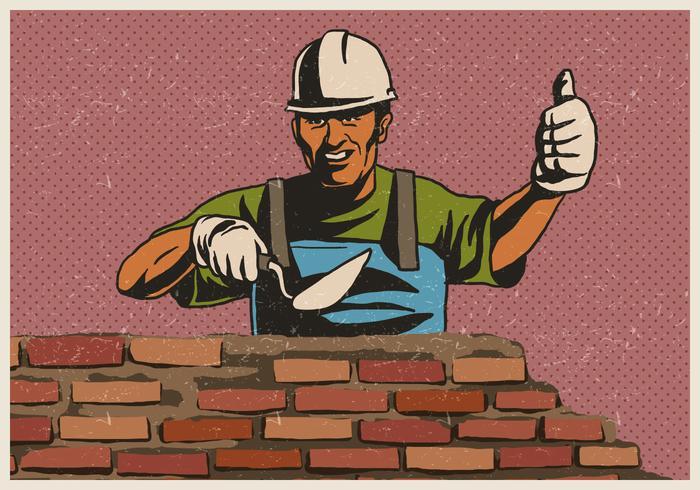 Travailleuse de maçonnerie