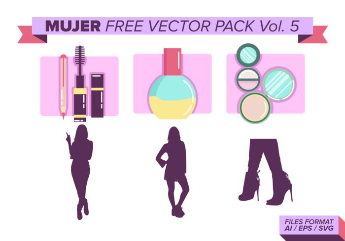 Mujer Gratis Vector Pack Vol. 5
