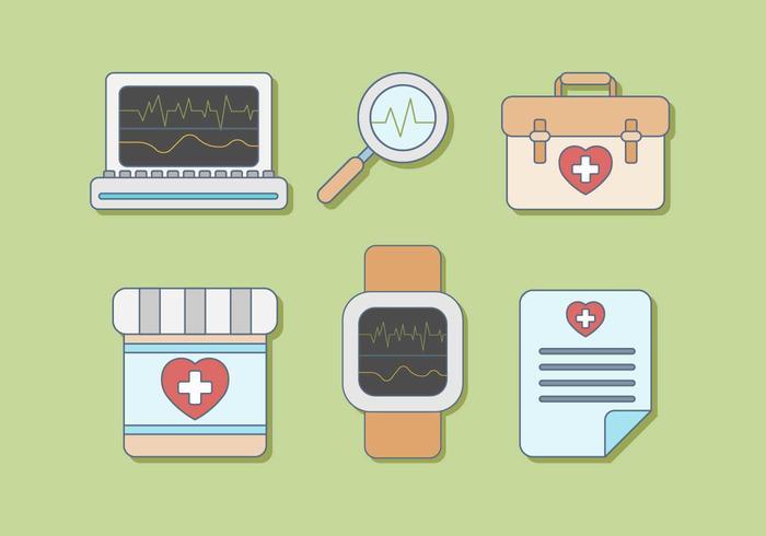 Vector libre del cuidado del corazón