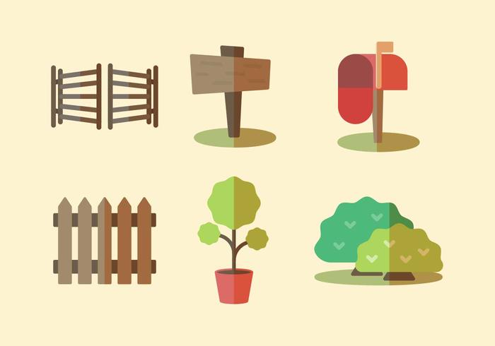 Free Front Yard Vector