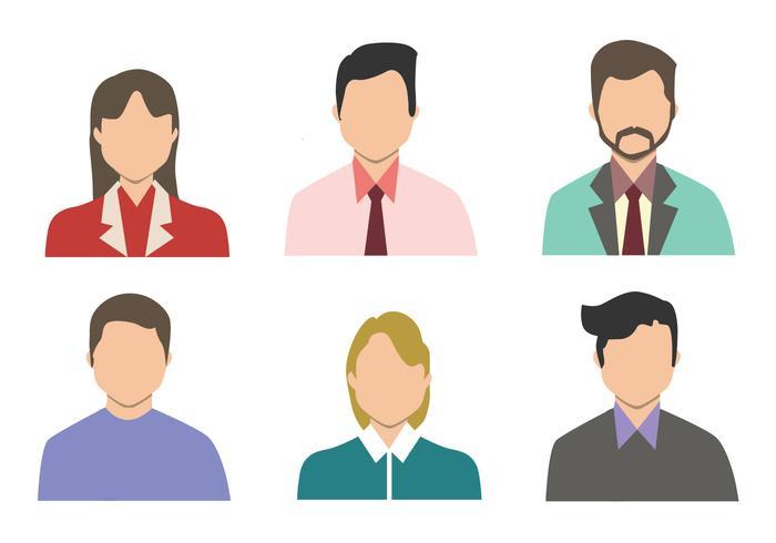 Personas Vector Set
