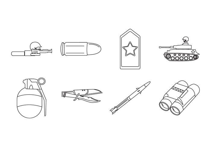 Icono gratis del Ejército