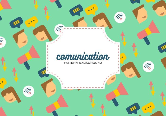 Comunication Background vector