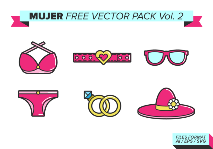 Mujer Free Vector Pack Vol. 2