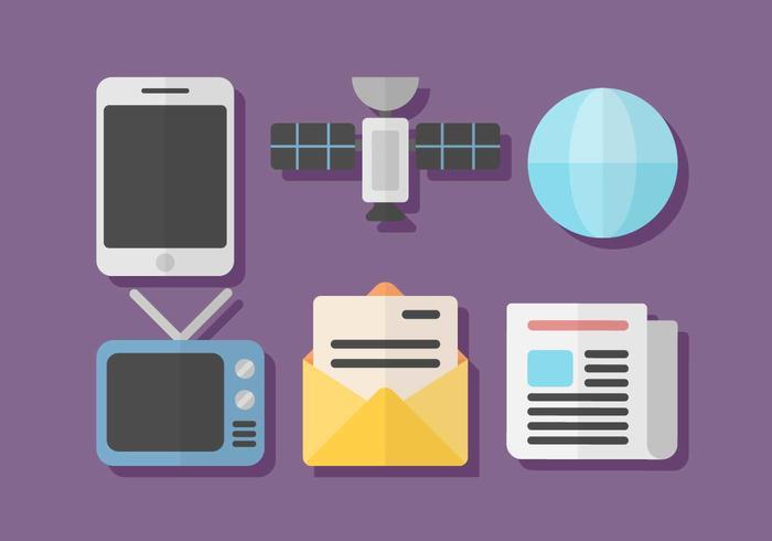 Kostenlose Kommunikation Vektor