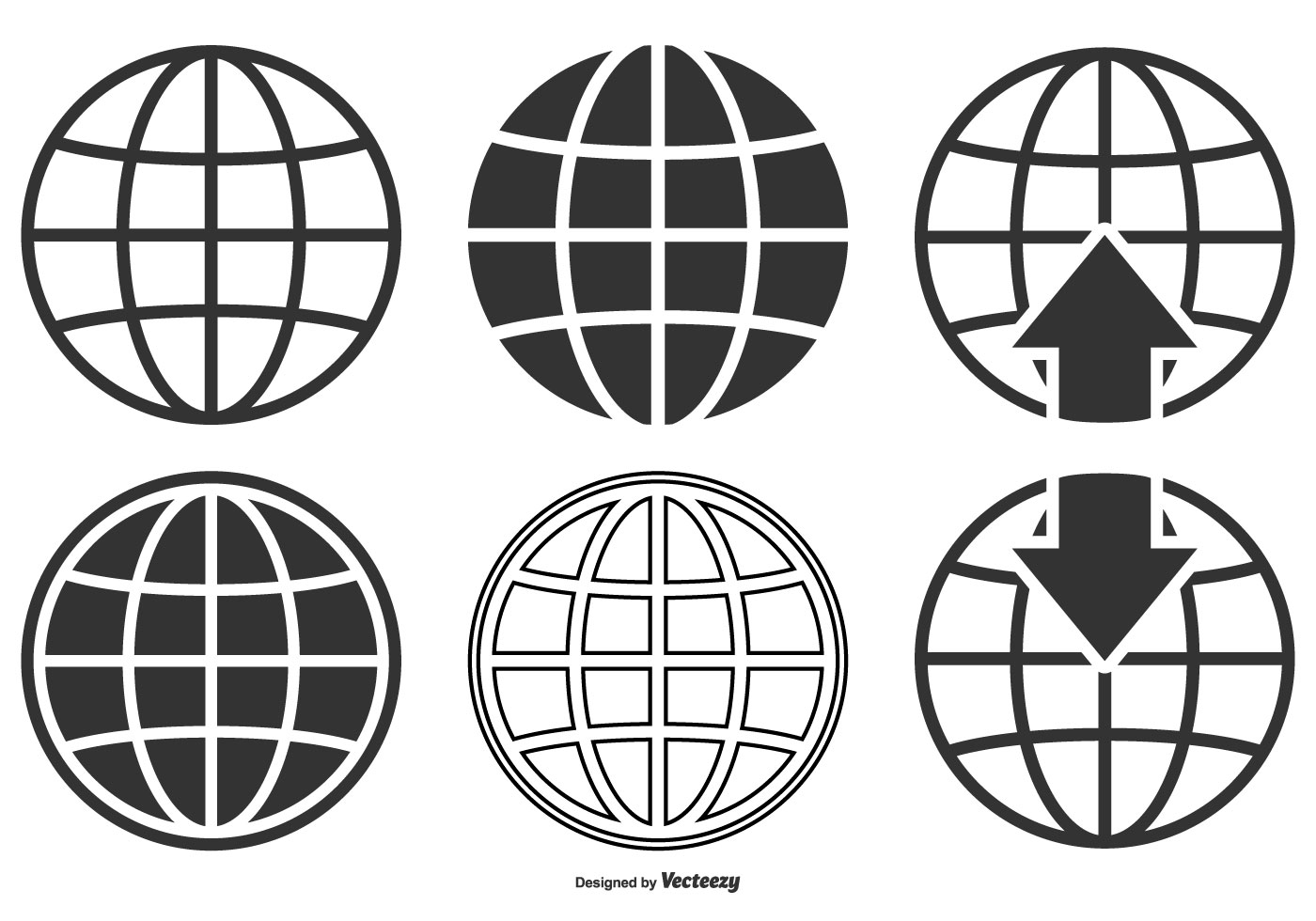 High Quality World Globe Icon Collection