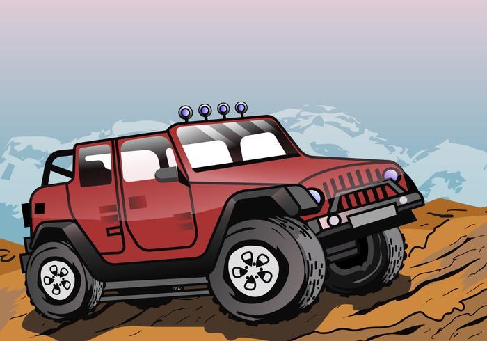 Jeep d'aventure