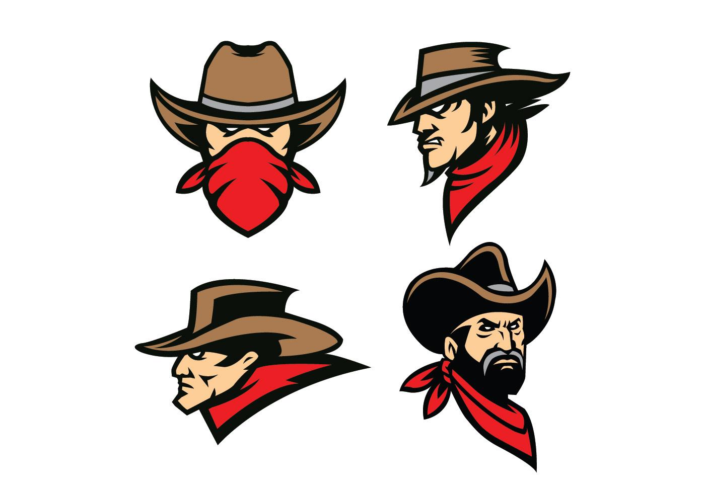 Free download of Wyoming Cowboy vector logos