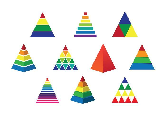 Freier Piramide Vektor