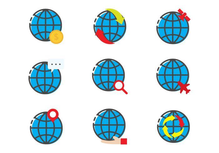 Globus Linear Icon