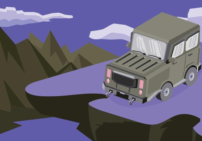 Free Jeep Illustration vector