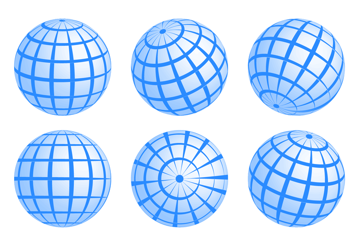 Vetor globus livre