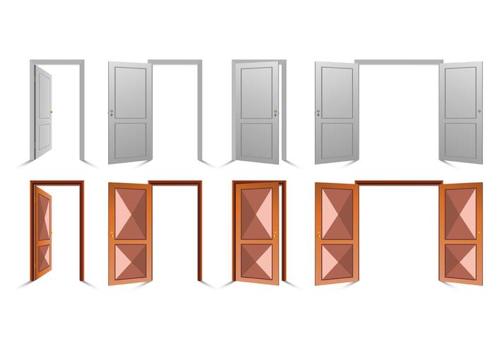 Open poort vector