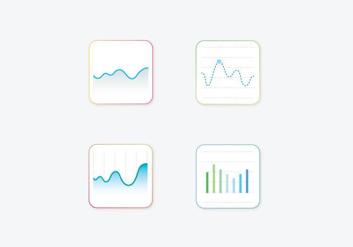 Statistik Vector Ikoner