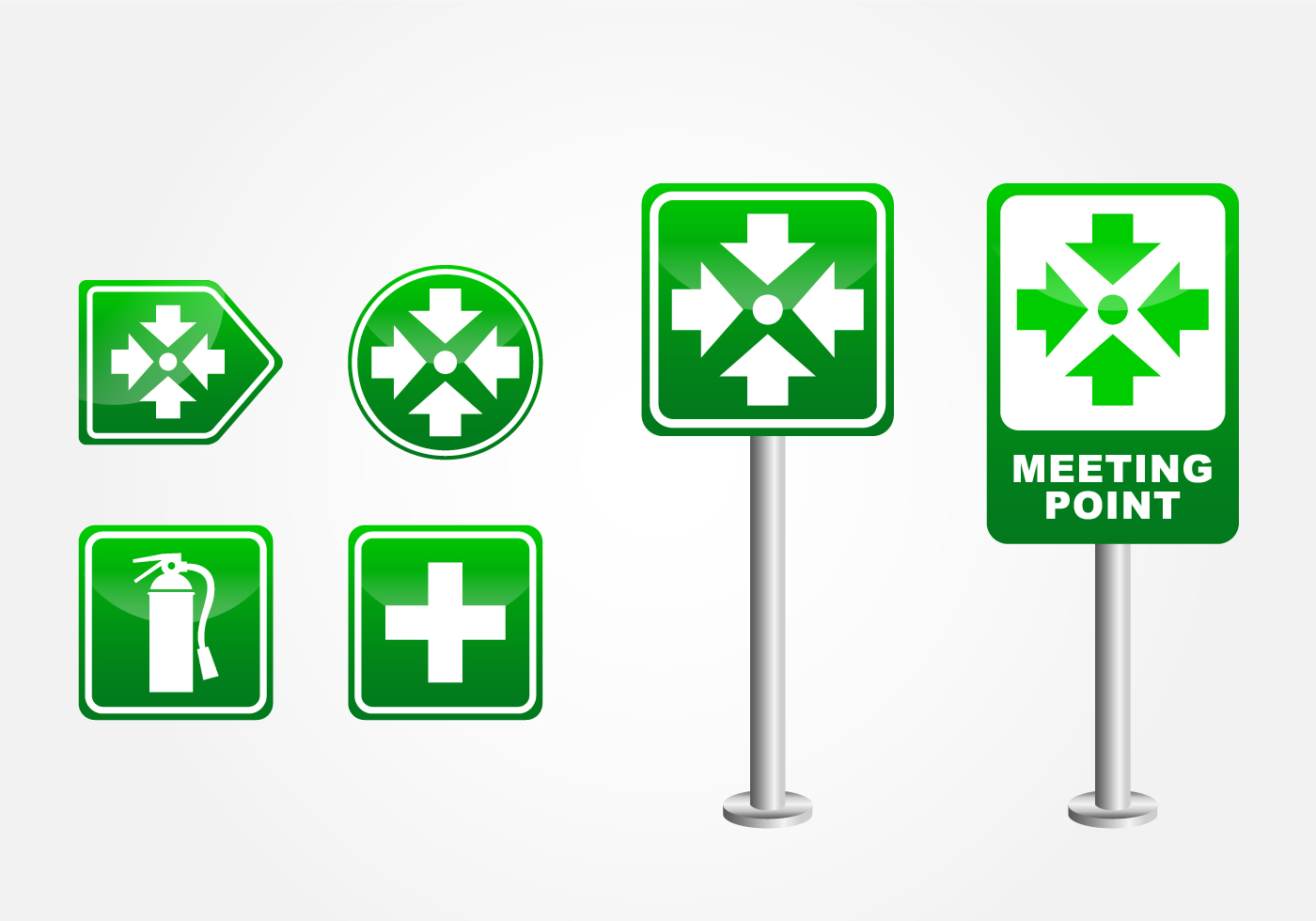 Meeting Point Sign Download Free Vector Art Stock Graphics Images