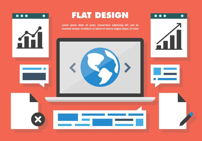 Free Web Design Vector