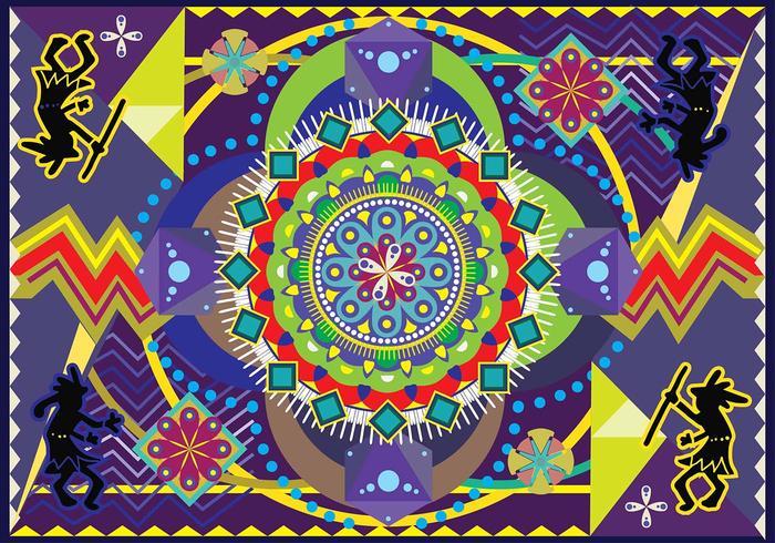 Huichol Vector Art