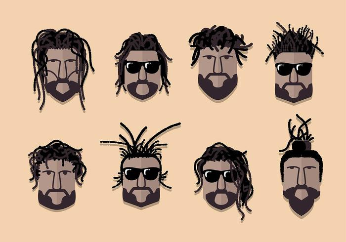 Dreads Culture Vector