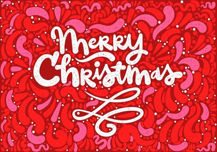 Frohe Weihnachten Beschriftung