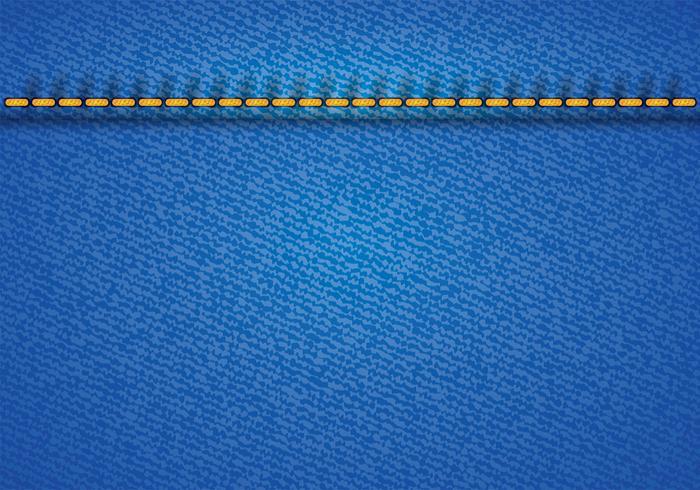 Blauer Jean-Vektor