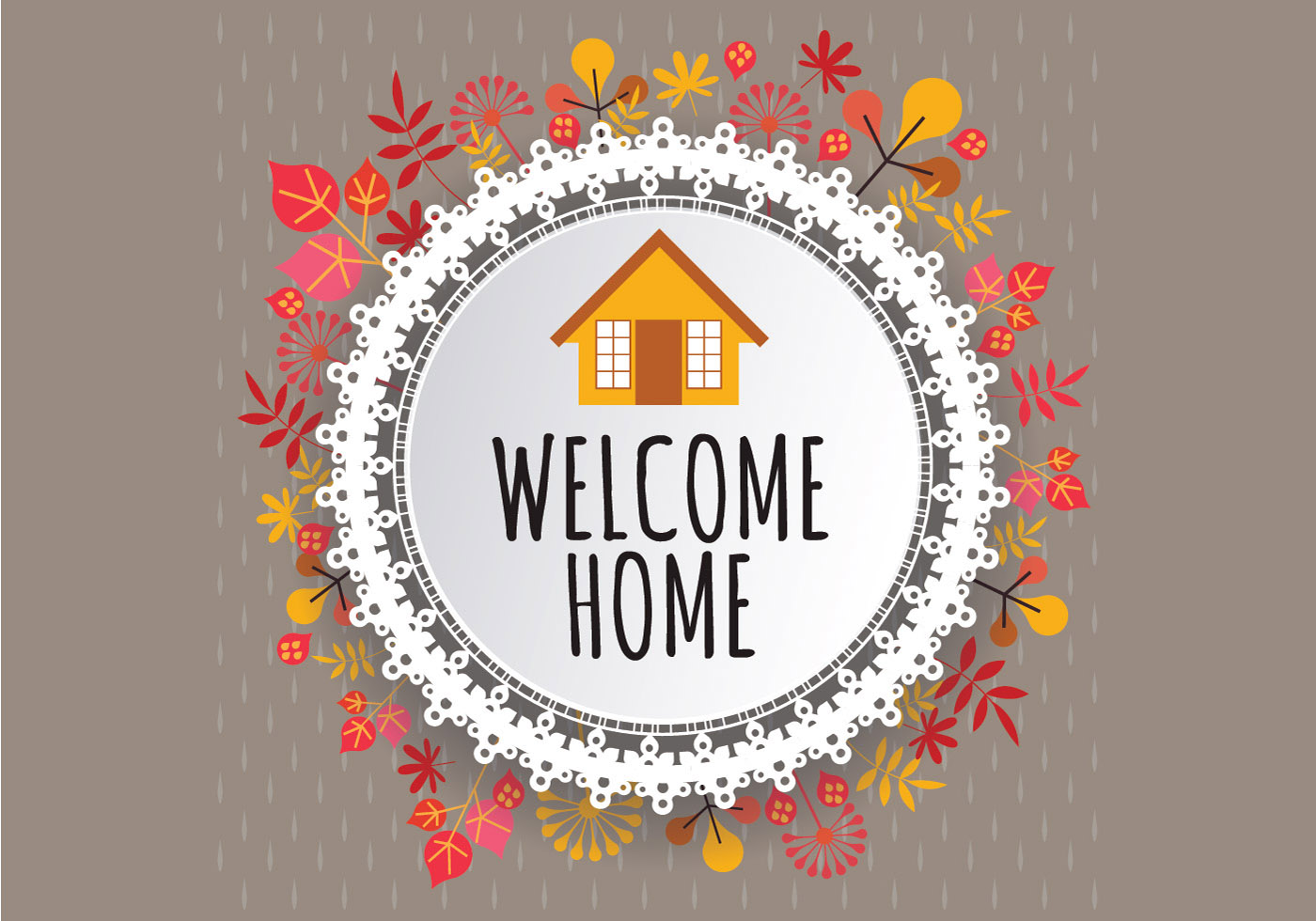 Welcome Home Sign Free Vector Art - (14703 Free Downloads)