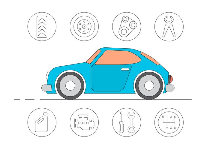 Free Car Service Icons