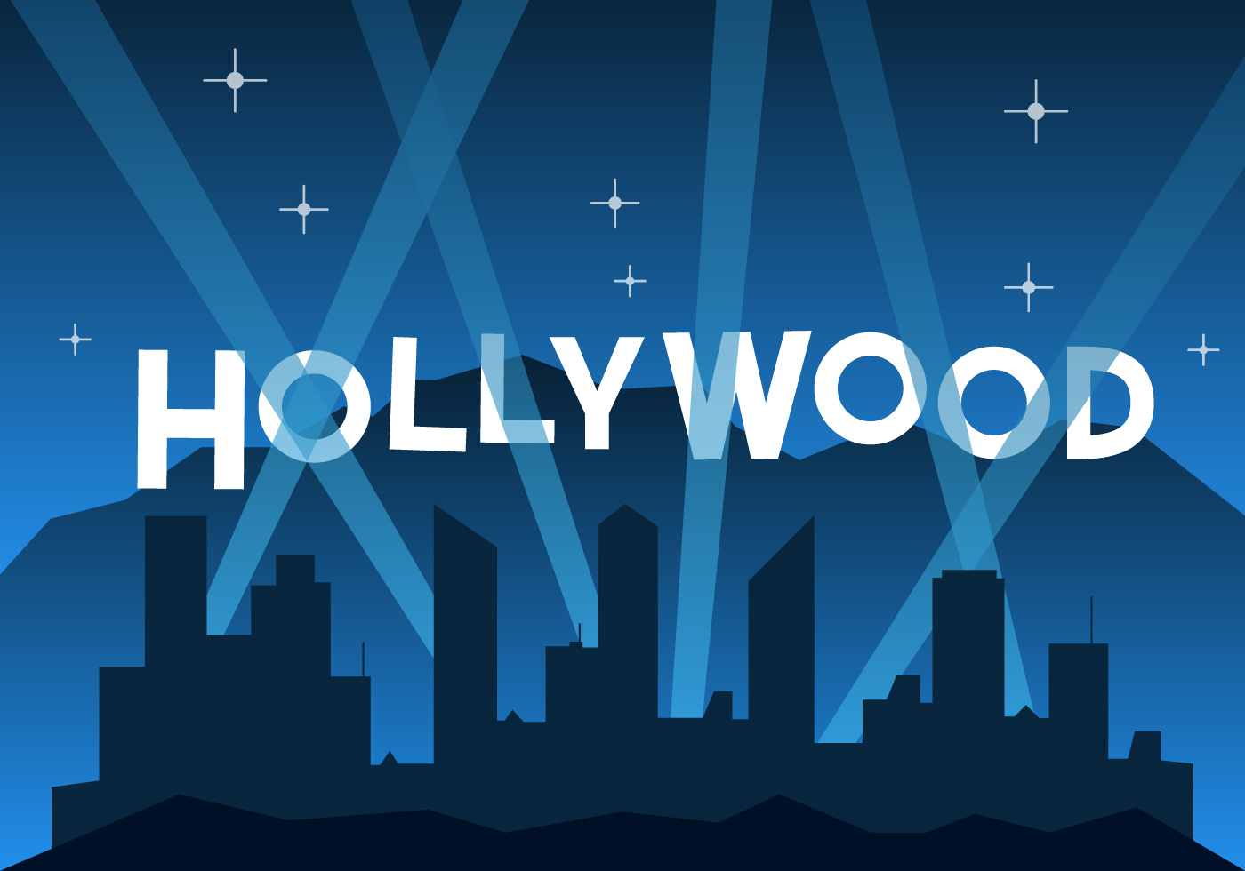 Free Hollywood Illustration - Download Free Vector Art ...