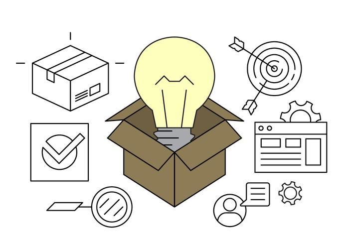 Business Idea Vector Icons