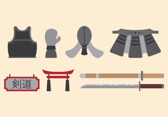 Set Of Kendo Icons