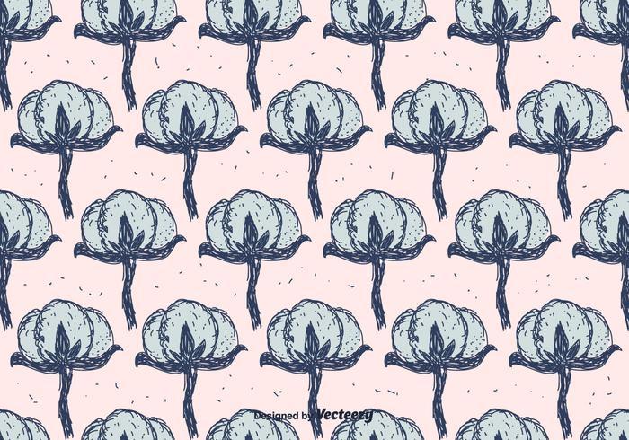 Baumwollblumenmuster
