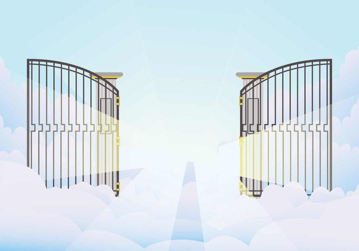 open gate illustration download free vector art stock graphics