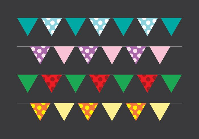 Bunting Party Flagge