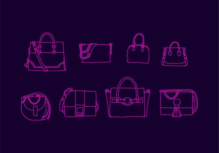 Gratis Versace Bag Vector Illustratie