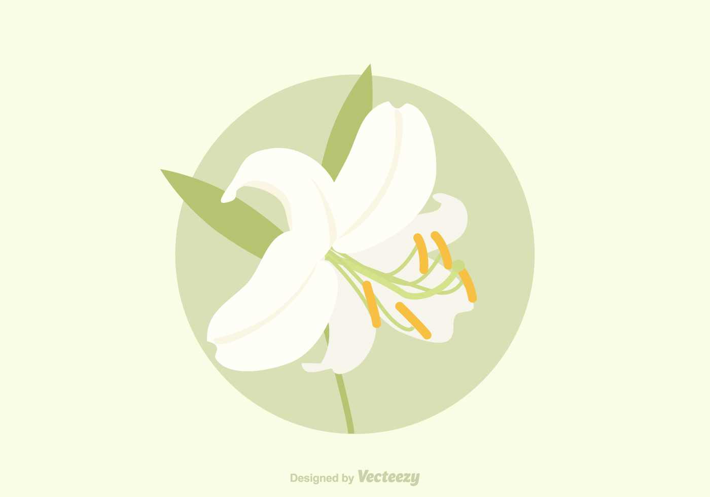 Free Easter Lily Vector - Download Free Vector Art, Stock ...