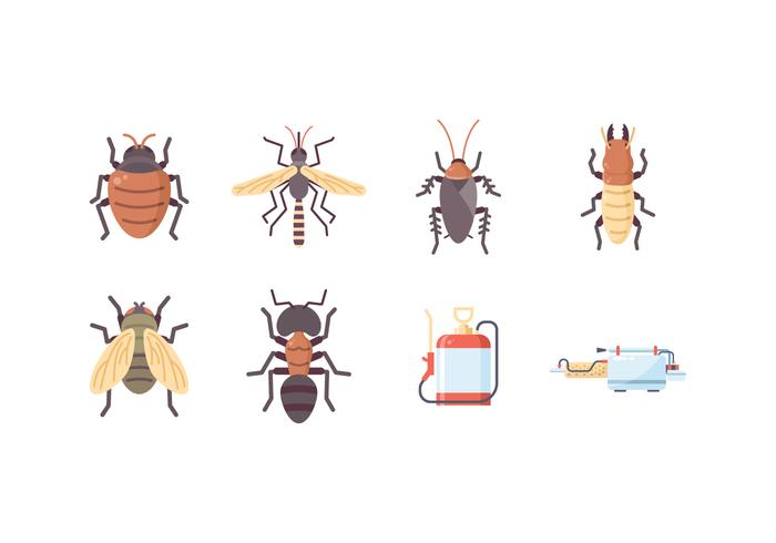 Free Pest Control Icons