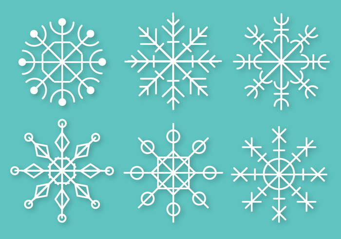 Free Snowflakes Vector
