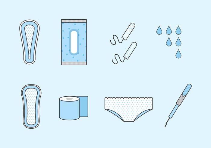 Free Sanitary Vectors
