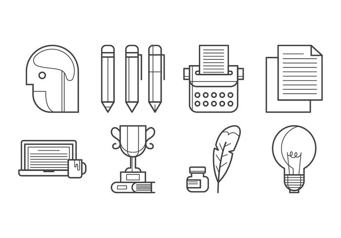 Free Writing Icon Vector