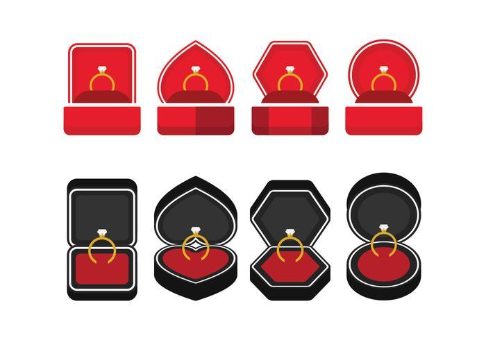 Icônes de la boîte à anneaux