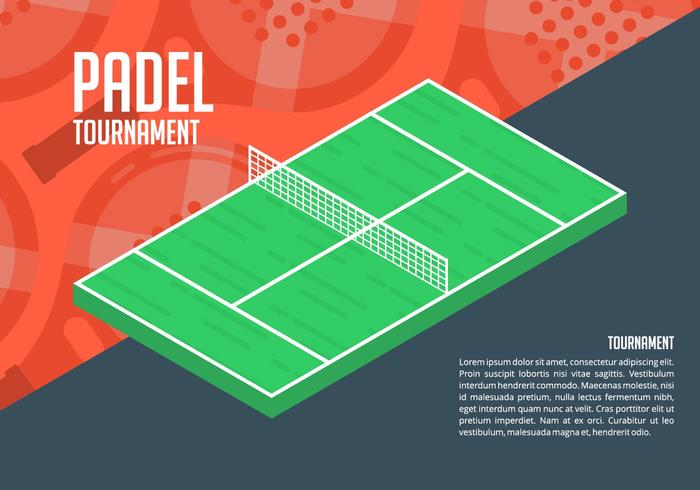 Padel Background vector
