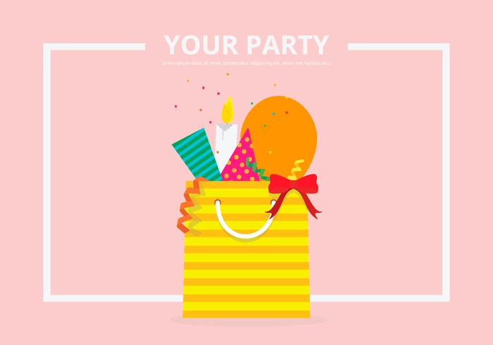 Party Favors Equipment Template