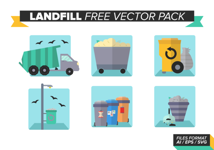 Landfill Free Vector Pack