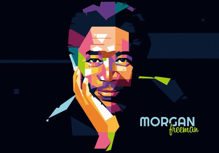 Morgan freeman - hollywood stil - wpap