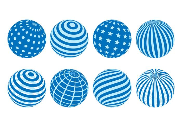 Free Globes Vector