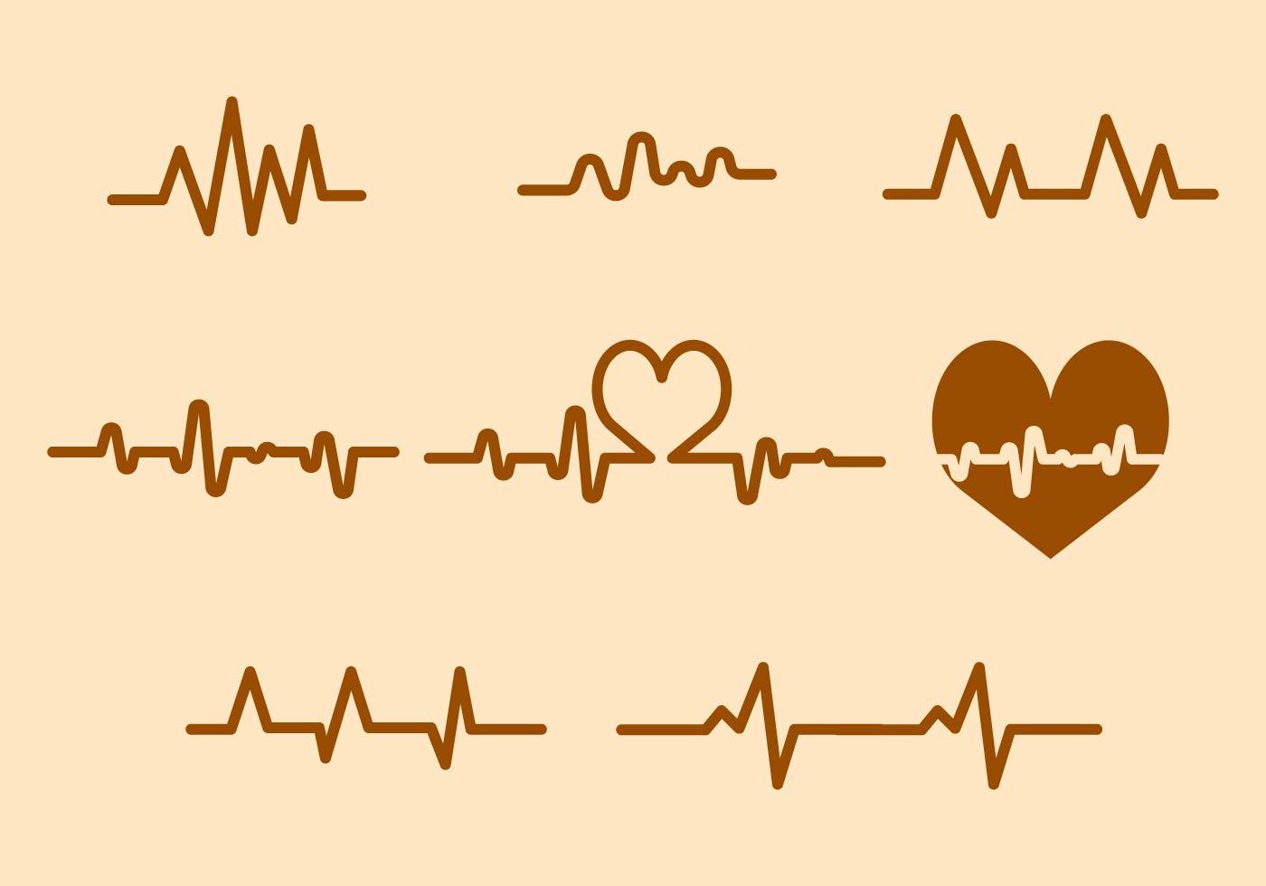Heart Beat Free Vector Art 4921 Free Downloads