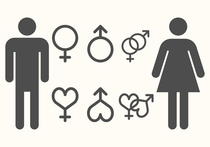 Male Female Symbol Free Vector Art 32274 Free Downloads
