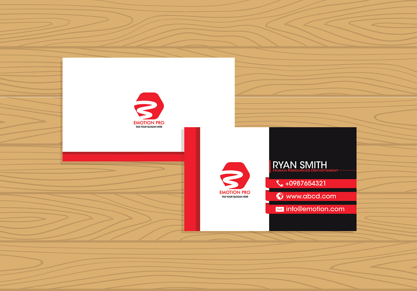 Name Card Template Free Vector Art - (11565 Free Downloads)