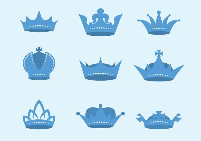 Vetor de coroa britânica livre