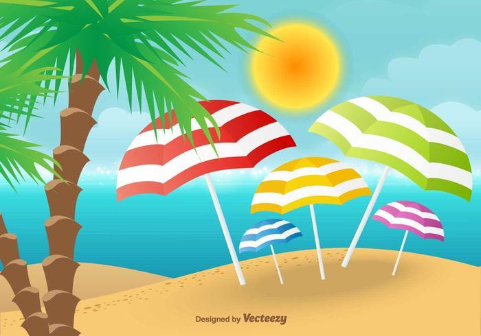 Beach Vector Background