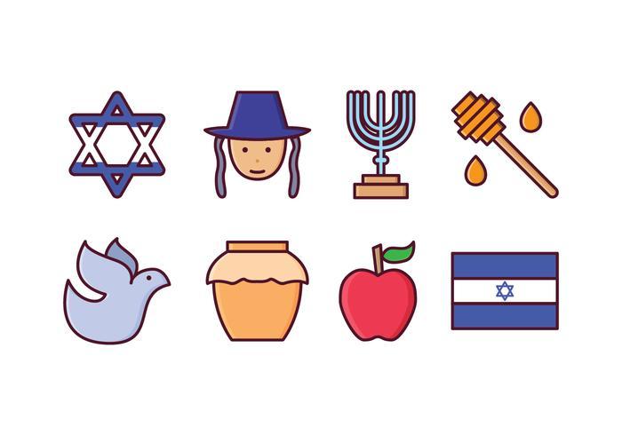 Free Israel Icon Set